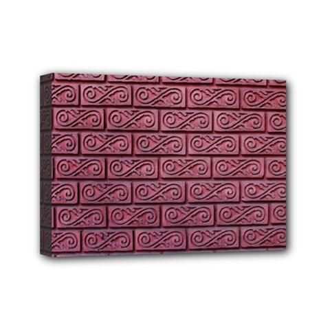 Brick Wall Brick Wall Mini Canvas 7  X 5
