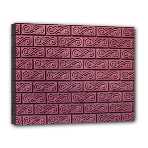 Brick Wall Brick Wall Canvas 14  X 11