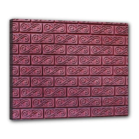 Brick Wall Brick Wall Canvas 20  X 16