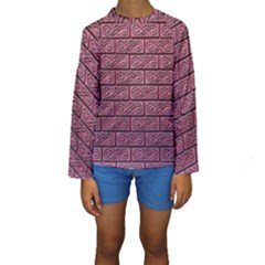 Brick Wall Brick Wall Kids  Long Sleeve Swimwear
