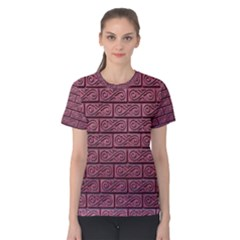 Brick Wall Brick Wall Women s Cotton Tee
