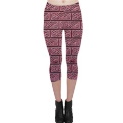 Brick Wall Brick Wall Capri Leggings