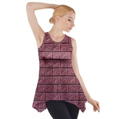 Brick Wall Brick Wall Side Drop Tank Tunic