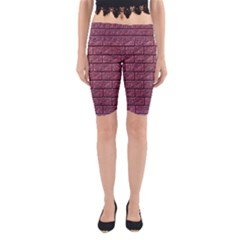 Brick Wall Brick Wall Yoga Cropped Leggings