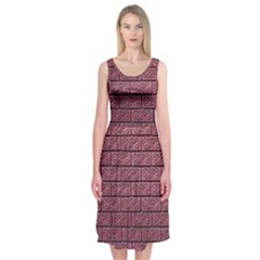 Brick Wall Brick Wall Midi Sleeveless Dress