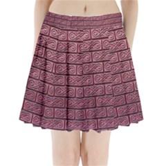 Brick Wall Brick Wall Pleated Mini Skirt