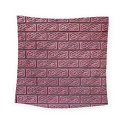 Brick Wall Brick Wall Square Tapestry (small)