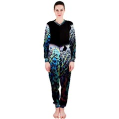 Bubble Iridescent Soap Bubble Onepiece Jumpsuit (ladies)