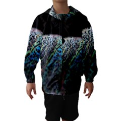 Bubble Iridescent Soap Bubble Hooded Wind Breaker (kids)