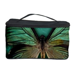 Butterfly Background Vintage Old Grunge Cosmetic Storage Case