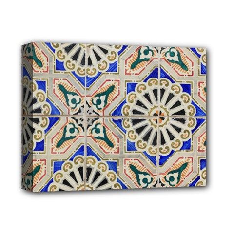 Ceramic Portugal Tiles Wall Deluxe Canvas 14  X 11