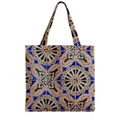 Ceramic Portugal Tiles Wall Grocery Tote Bag