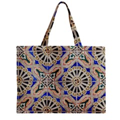 Ceramic Portugal Tiles Wall Mini Tote Bag