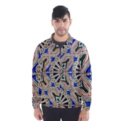 Ceramic Portugal Tiles Wall Wind Breaker (men)