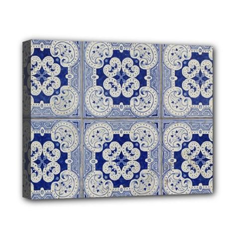 Ceramic Portugal Tiles Wall Canvas 10  X 8