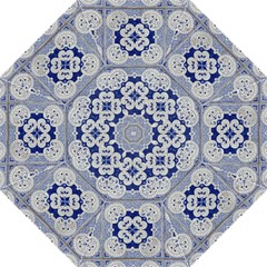 Ceramic Portugal Tiles Wall Folding Umbrellas
