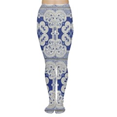 Ceramic Portugal Tiles Wall Women s Tights