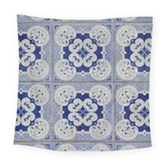 Ceramic Portugal Tiles Wall Square Tapestry (large)