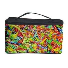 Canvas Acrylic Design Color Cosmetic Storage Case