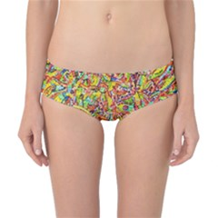 Canvas Acrylic Design Color Classic Bikini Bottoms