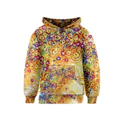 Canvas Acrylic Design Color Kids  Pullover Hoodie