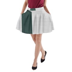 Construction Design Door Exterior A Line Pocket Skirt
