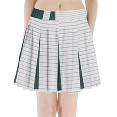 Construction Design Door Exterior Pleated Mini Skirt