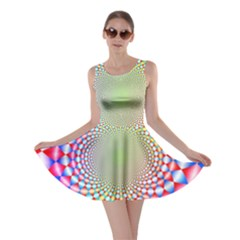 Color Abstract Background Textures Skater Dress