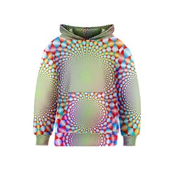 Color Abstract Background Textures Kids  Pullover Hoodie