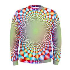 Color Abstract Background Textures Men s Sweatshirt