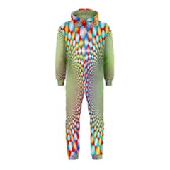 Color Abstract Background Textures Hooded Jumpsuit (kids)