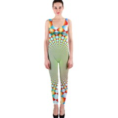 Color Abstract Background Textures Onepiece Catsuit