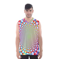 Color Abstract Background Textures Men s Basketball Tank Top
