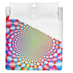 Color Abstract Background Textures Duvet Cover (queen Size)