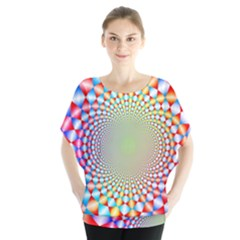 Color Abstract Background Textures Blouse