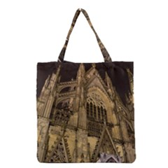 Cologne Church Evening Showplace Grocery Tote Bag