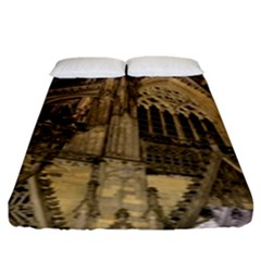 Cologne Church Evening Showplace Fitted Sheet (king Size)