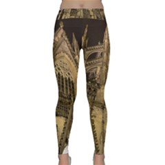 Cologne Church Evening Showplace Classic Yoga Leggings