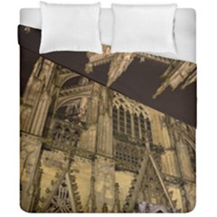 Cologne Church Evening Showplace Duvet Cover Double Side (california King Size)