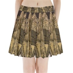 Cologne Church Evening Showplace Pleated Mini Skirt