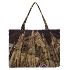 Cologne Church Evening Showplace Medium Zipper Tote Bag