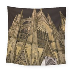 Cologne Church Evening Showplace Square Tapestry (large)