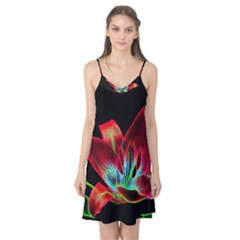Flower Pattern Design Abstract Background Camis Nightgown