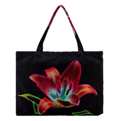 Flower Pattern Design Abstract Background Medium Tote Bag