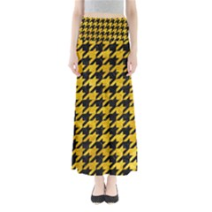 HTH1 BK-YL MARBLE Maxi Skirts