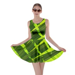 Frond Leaves Tropical Nature Plant Skater Dress