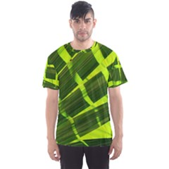 Frond Leaves Tropical Nature Plant Men s Sport Mesh Tee
