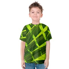 Frond Leaves Tropical Nature Plant Kids  Cotton Tee