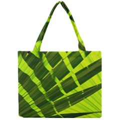 Frond Leaves Tropical Nature Plant Mini Tote Bag
