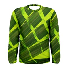 Frond Leaves Tropical Nature Plant Men s Long Sleeve Tee